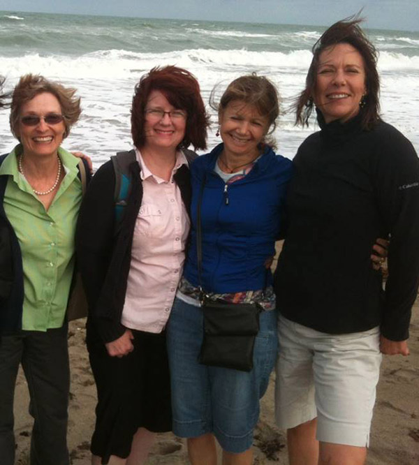 the coaches of gift family services, Gayle Swift, Sally Ankerfelt, Joann DiStefano and Susan David