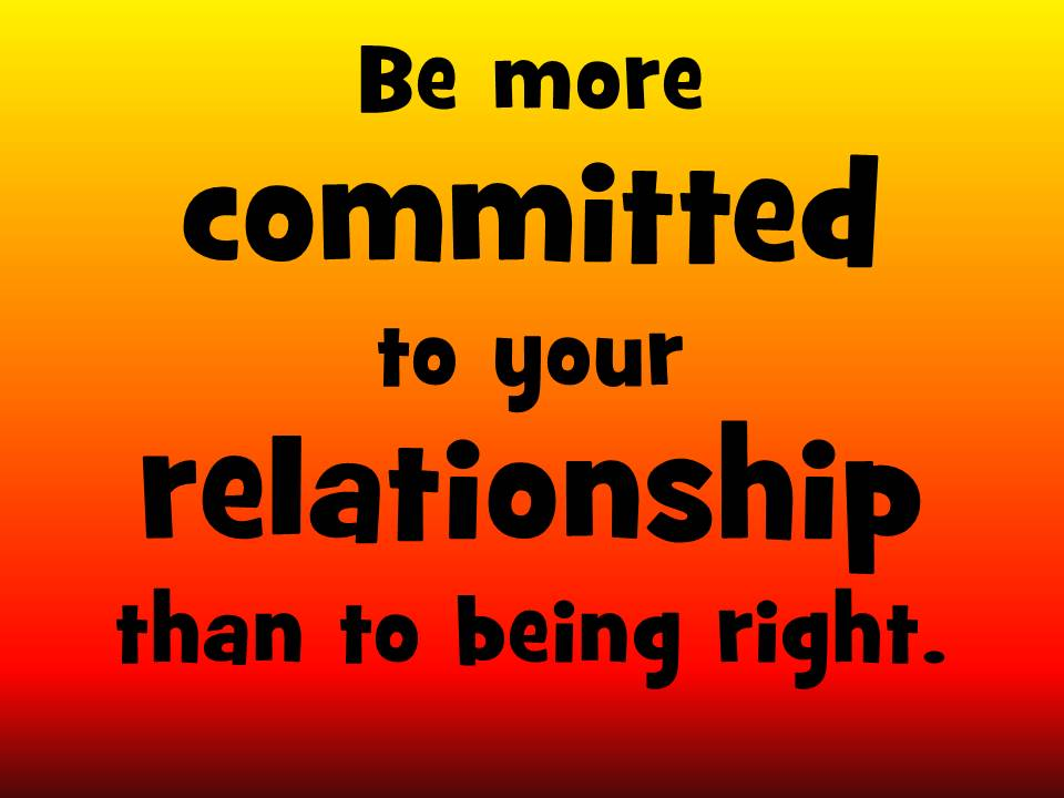 Committed to relationship