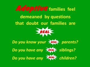 Adoptive families and the Real factor.real-graphic-2