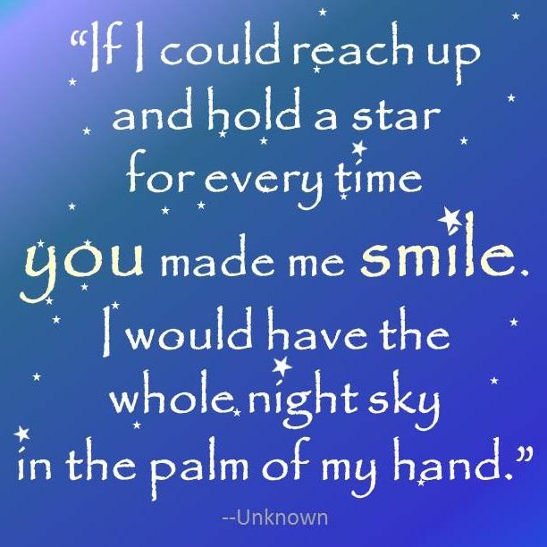 Smile night sky