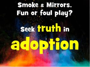 smoke mirrors truth.