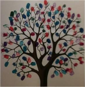 GIFT rainbow tree