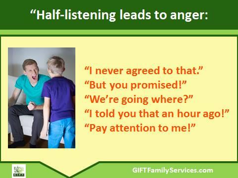 half listening .blog