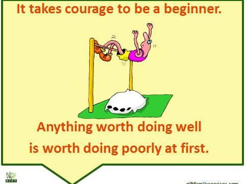 Courage beginner