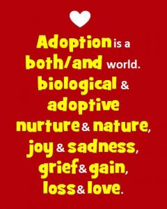 talking about adoption matters