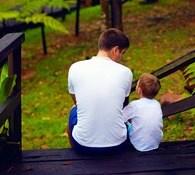 FATHER SON.WITNESS OF THE HEART adoption grief loss