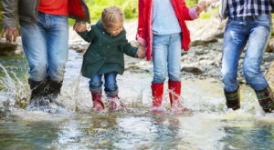Our Job as Parents.puddle jumping family