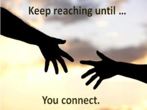 Roots and Wings, Questions and Answers Keep reaching until you connect