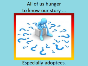 Walking in Our Children's Shoes.hunger to know
