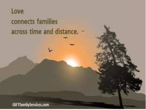 Roots and Wings, Questions and Answers Love connects families across time and distance